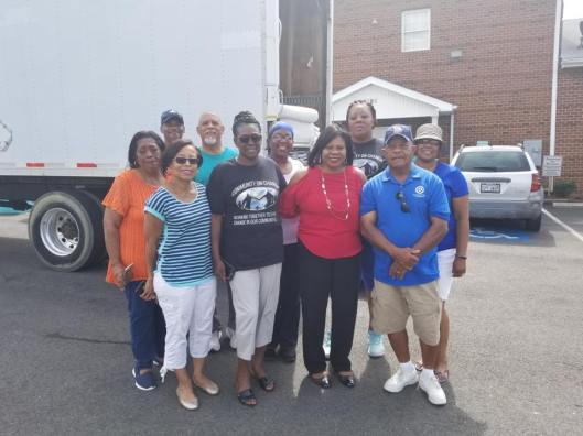 PrinceGeorgeandHopewellDems 081818 Community Day Thorne